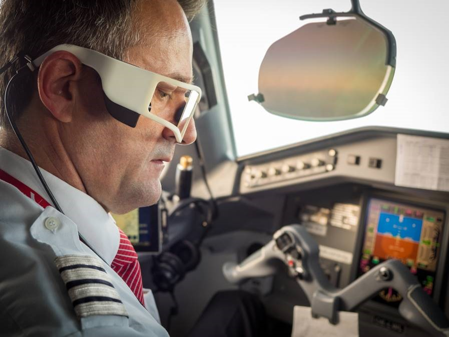 Test of Phasya's technology with pilots from Austrian Airlines